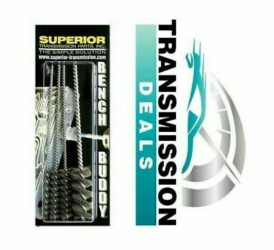 Superior Products Bench Buddy Transmission Valve Body Bore Brushes BB100