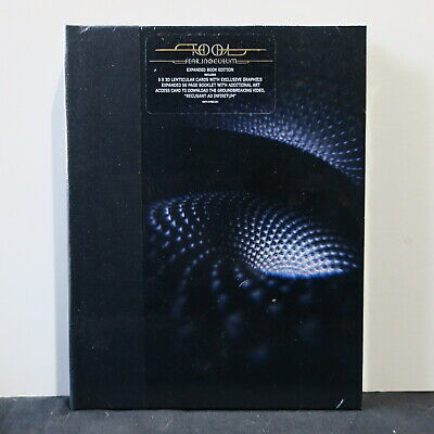 TOOL 'Fear Inoculum' EXPANDED BOOK Edition CD + 5x 3D Lenticular Cards NEW