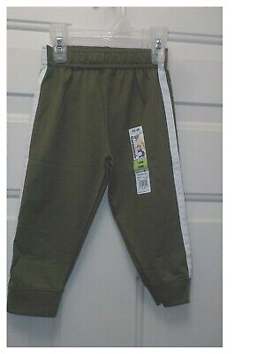 BABY BOY/'S JERSEY TAPED PANTS NB GARANIMALS 12M ELASTIC WAIST *NWT