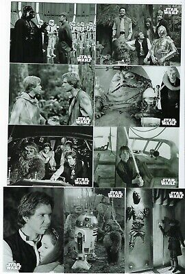 2020 Topps Star Wars Black & White Return Of The Jedi Set 133 Cards Complete