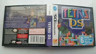 Tetris DS (Nintendo DS, 2006) Complete Authentic game, manual, cover art, case