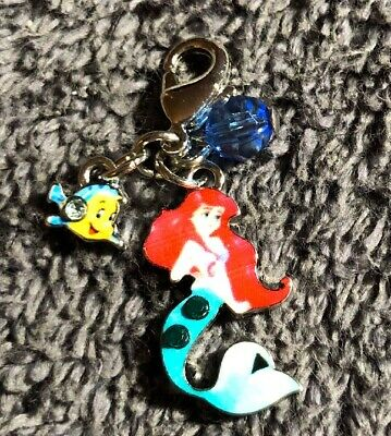 Disney Parks Charmed In The Park- Ariel And Flounder Dangle Charm