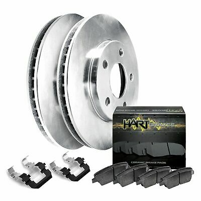 G37 Rear Drill Slot Brake Rotors+Ceramic Brake Pads Fit 2007-2009 Infiniti G35