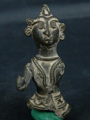Antique Brass Figure Hindu 1800 AD No Reserve #BR6427