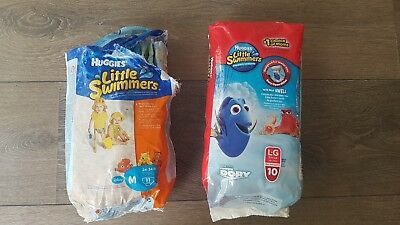 New Never Used 27 Huggies Little Swimmers