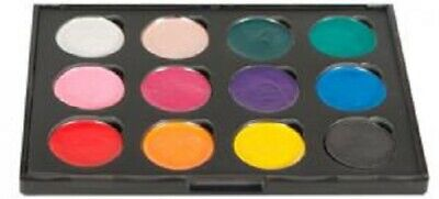 COSMIC SHIMMER IRIDESCENT Watercolour Paints x 12 CARNIVAL BRIGHTS Set 2 CSIWP