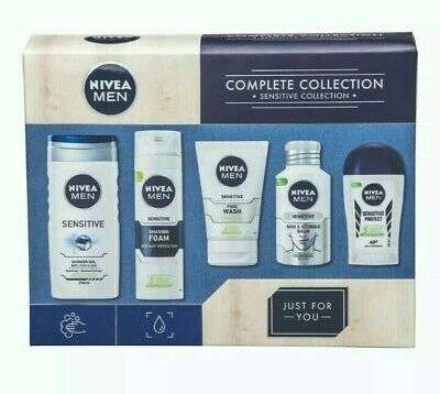 Nivea Men Complete Grooming Collection Sensitive Gift Set - Gift Idea - New