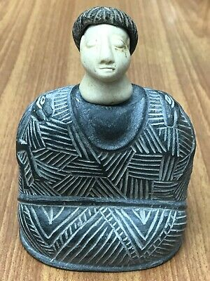 100 BC Ancient bactrian composite chloride stone KING IDOL 2 horse statue