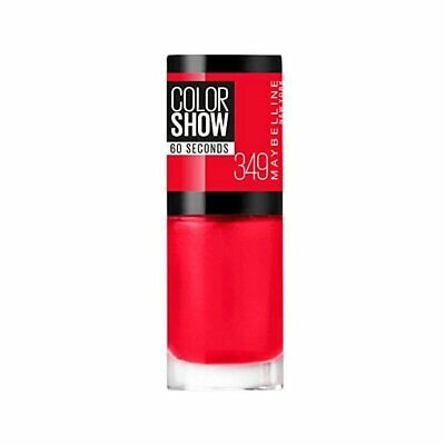 GEMEY MAYBELLINE - Vernis COLORSHOW - 349 Power Red