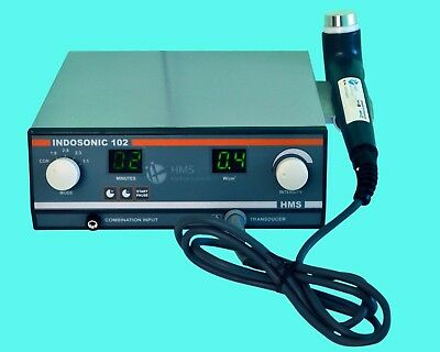 Ultrasound Therapy Achilles Tendon 1Mhz, Indosonic Suitable Underwater Unit @