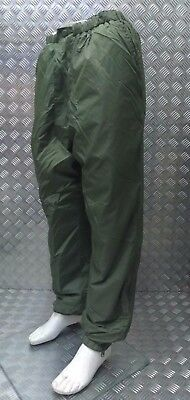 Genuine British Military Softy Reversible Cold Weather Trouser Green / Sand NEW