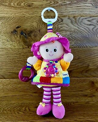 Lamaze Play & Grow My Friend Emily Doll baby activity learning toy comforter vgc