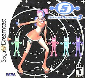 Space Channel 5 (Sega Dreamcast, 1999) DISC ONLY