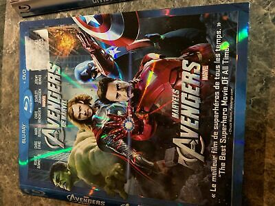 Marvel Avengers - Blu Ray Size - Slip Cover Only