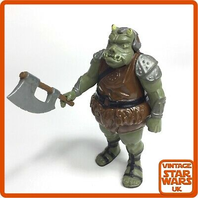 VINTAGE STAR WARS REPRODUCTION GAMORREAN GUARD AXE RETURN OF THE JEDI