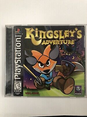 Kingsley's Adventure (Sony PlayStation 1, 1999)