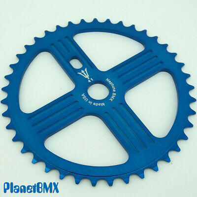 NEPTUNE BMX 42 tooth HELM Sprocket PURPLE Gear for 19mm spindles Made in USA!