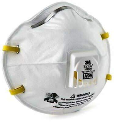 3M 8210V N95 particulate respirator price is per each mask.