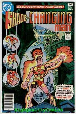 SHADE #1, VF+/NM, Steve Ditko, 1977, 1st Apperance, the Changing Man