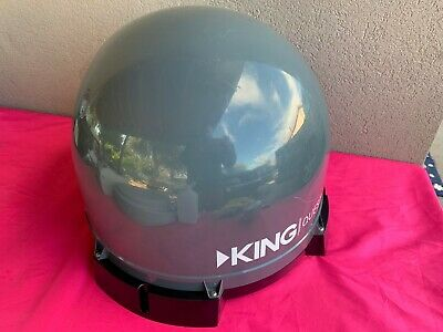 KING VQ4100 Quest Portable/Roof Satellite TV Antenna- compatible with DIRECTV