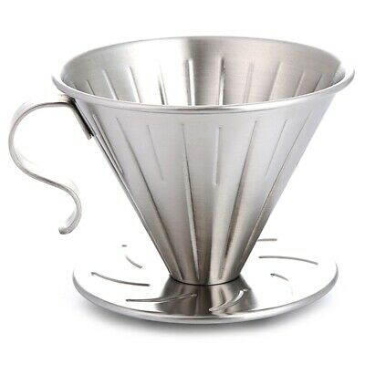Sale DECEMBER Coffee Dripper Steel Stainless Variable Brewing type 1-4 cup/_igec