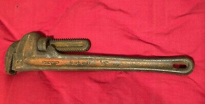 Rigid pipe wrench 18 Inch Heavy Duty Vintage