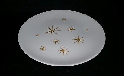 """( 1 )  VINTAGE 60's ROYAL CHINA STAR GLOW PATTERN 10"""" DINNER PLATE REPLACEMENT"""