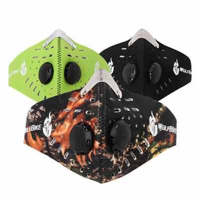 Breathable PM2.5 Dust Mask Anti Smoke Allergy Respirator Washable Outdoor