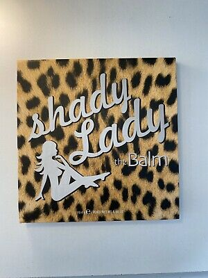 The Balm Shady Lady Eyeshadow/Liner Palette DISCONTINUED Cosmetics Beauty