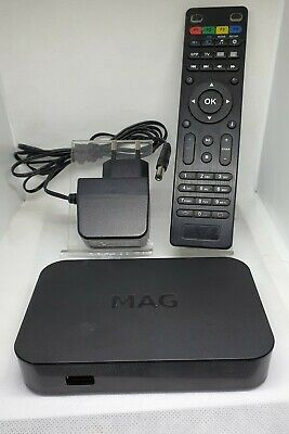 Infomir MAG 254 IPTV Full HD Media Streamer, with Remote Control.
