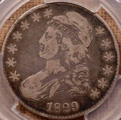 1829 O.112a Capped Bust half, PCGS VF20, very pleasing orig   DavidKahnRareCoins