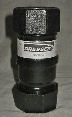 """New Old Stock  - 1 1/4""""  Dresser Coupling - 0090-0003-69 Style 90  #73578"""