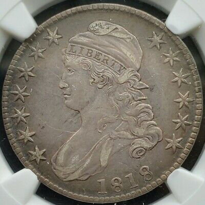 1818 Capped Bust Half Dollar | NGC  XF45  ☆Gorgeous!!☆