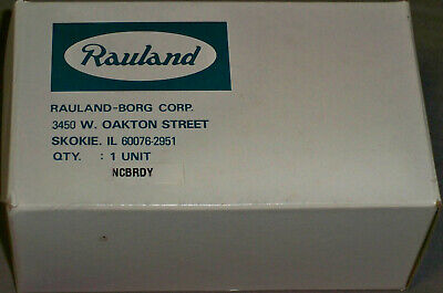 NEW Rauland-Borg Responder NCBRDY Nurse Call Bed Ready Duty Station, NIB NOS OME