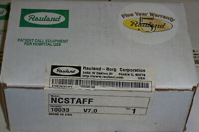 NEW Rauland-Borg Responder NCSTAFF Nurse Call Staff Station, Factory Sealed OEM