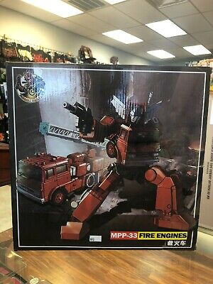 New edition Deformation toys MPP-33 fire engine fire engine amplifier version