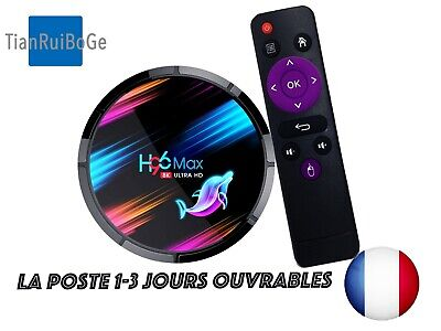 H96MAX X3 TV BOX Android 9.0 Amlogic S905X3 Quad Core 2.4G/5G WIFI 8K BT4.0