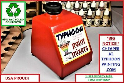 Typhoon Paint Mixer Hobby Acrylic Tattoo Ink Stirrer Shaker Gw Vallejo