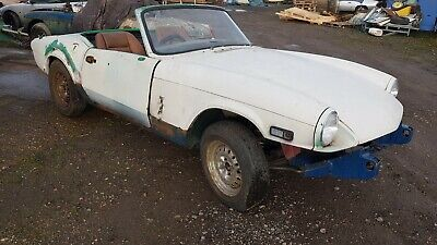 1976 Triumph Spitfire 1500 - Easy restoration Project