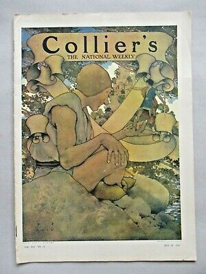 Collier's Magazine - July 30, 1910 ~~ Maxfield Parrish cover art