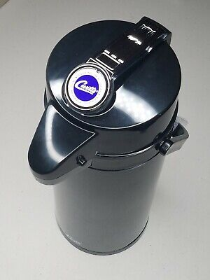 CURTIS TLXA-22 THERMOPRO THERMAL COFFEE/HOT WATER AIR POT 2.2L All Black