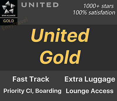 Star Alliance Gold | United Gold |  Can Extend to 2021
