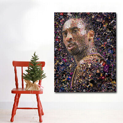 KOBE BRYANT Poster Amazing 2 Pictures Collage Hot New Rare Poster