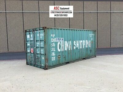 20 Foot Used  Shipping Container, Cargo Container, Conex Box, Sea Box