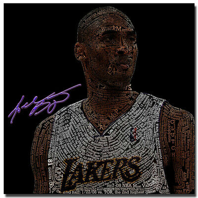 KOBE BRYANT Poster Amazing 2 Pictures Collage Hot New Rare Picture