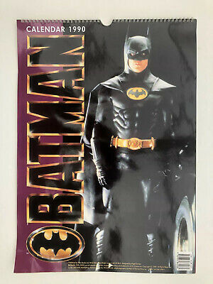 Batman Movie Calendar 1990 Unused Great Condition