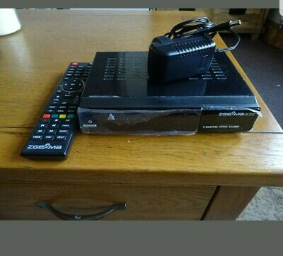 Zgemma H2S TV Receiver. Comes With  Remote Controls with extras
