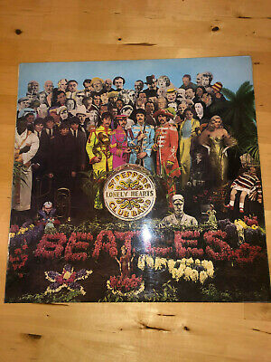 Beatles Sgt. Pepper's Lonely Hearts Club Band Pcs 7027 Stereo - Cutout - No Kt