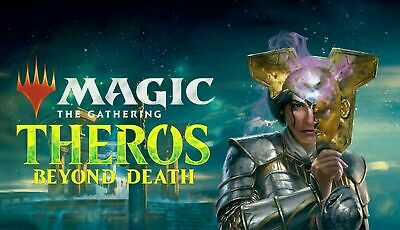 MTG MAGIC Theros Beyond Death 4x Complete Common & Uncommon Set NEVER PLAYED
