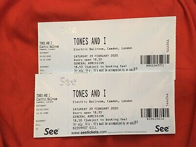 tones and I (dance monkey) London Tickets